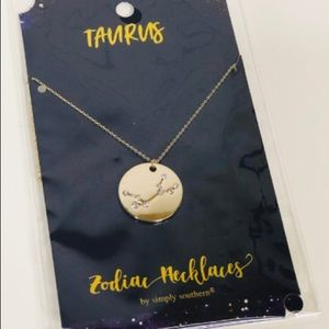 🌺 Simply Southern Zodiac Necklace   Taurus
